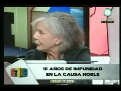 """El fuera de programa de Beatriz Sarlo: """"conmigo no Barone""""."""